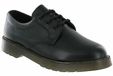 Grafters Uniform Leather Security Shoes Air Cushioned Mens Padded Lace Ups M162A