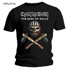 Official T Shirt IRON MAIDEN Book Souls  Eddie AXE Colour All Sizes