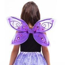 Cute Girls Tulle Crystal Butterfly Angel Fairy Wings Kids Party Fancy Dress