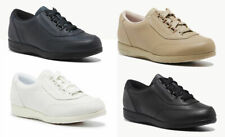 Ladies Shoes Leather Hush Puppies Classic Walker Size 5-12 Lace Up Comfort Shoe