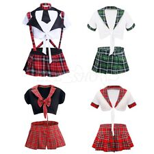 Students Cosplay Costume School Girl Outfits Uniform Sexy Adult Dress for Women
