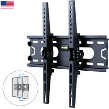 "TILT TV Wall Mount Bracket 26-50"" Plasma Flats LED LCD For Samsung Sony LG Vizio"