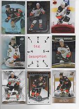 Anaheim Ducks BLOWOUT Lot #1 - Serial #'d - Rookies - Jersey - Auto - U-PICK