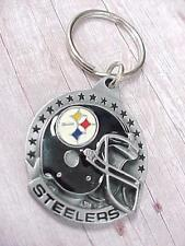 Vintage 1991 Pittsburgh STEELERS NFL Keychain Siskiyou Buckle Co New Old Stock