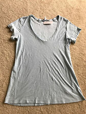 NWT NEW STANDARD James Perse black top short sleeve washable 2 PERSE M MEDIUM