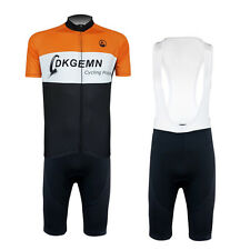 New Mens Team Outdoor Sports Cycling Bike Short Sleeve Jersey Bib Shorts Suits