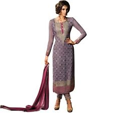 Bollywood Wedding Georgette Embroidered Salwar Kameez Suit India-Glamour-34004-B