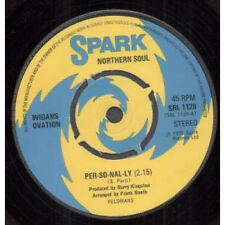 "WIGANS OVATION Per-So-Nal-Ly 7"" VINYL UK Spark 1975 4 Prong Label Design B/W Be"