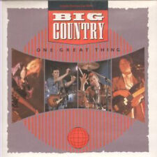 "BIG COUNTRY One Great Thing 7"" VINYL UK Mercury 1986 Limited Edition Red"