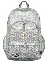 Chok Holographic Silver Backpack