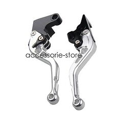 Silver Brake Clutch Levers for Suzuki SV650/S SV1000/S DL650/1000 GSR600/750 GSX