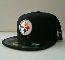 Nwt 35$ New Era Pittsburgh Steelers 59Fifty On-Field Fitted Hat 7 5/8 CAP35
