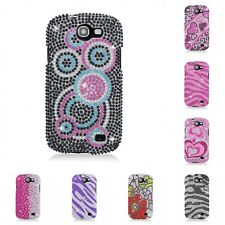 For Samsung Galaxy Express Case Diamond Bling Luxury Fashion Cute Hard Cover