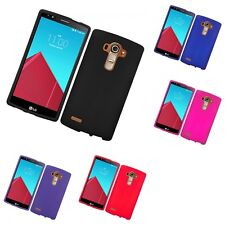 For LG G4 Hard Snap-On Rubberized Phone Skin Case Cover
