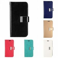For Samsung Galaxy S7 Wallet Flip Case PU Leather Feel With Card Holder Slots