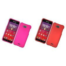 For Kyocera Hydro Wave Hard Snap-On Rubberized Phone Skin Case Cover