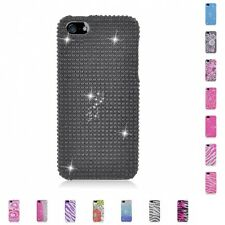 For Apple iPhone 5/5S/SE Case Diamond Bling Luxury Fashion Cute Hard Cover