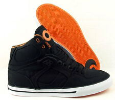 OSIRIS NYC 83 VLC Skateboard Shoes BLACK/ORANGE/WHITE