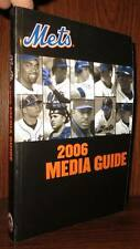 New York Mets THE NEW YORK METS 2006 MEDIA GUIDE  1st Edition 1st Printing