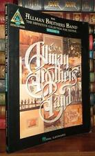 Brothers, Allman THE ALLMAN BROTHERS BAND The Definitive Collection for Guitar -