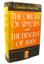 Charles Darwin THE ORIGIN OF SPECIES, THE DESCENT OF MAN  Modern Library Edition