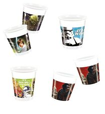 STAR WARS - 8 PLASTIC CUPS 200ml Range of Designs (Birthday/Party/Tableware)