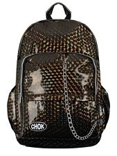 Chok Holographic Bronze Backpack