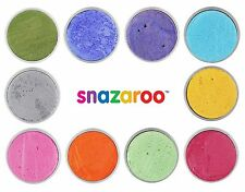 Snazaroo SPARKLE COLOUR PAINTS - 18ml Pots (Body/Fancy Dress/Make Up)