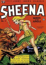 Jerry Iger's Classic Sheena Queen of the Jungle SC (1985 Blackthorne) #1-1ST VF