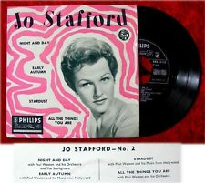 EP Jo Stafford Night and Day Early Autumn Stardust All