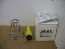 MCGILL 7000-G-38 Par 38 Cage Hand Lamp No Cord Rubber Handle New
