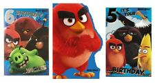 ANGRY BIRDS Greetings Birthday Card - Kids/Age/General/Party