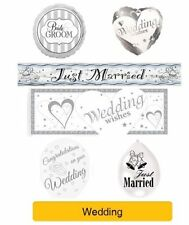 WEDDING - wedding WISHES Party Banners, Balloons, Decorations