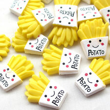 10/50pcs Yellow Potato Resin Flatback Flat Backs Scrapbooking Craft