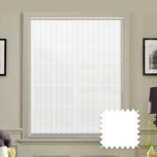 """5"""" Vertical Blind Replacement Slats White or Cream MADE TO MEASURE"""