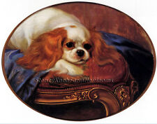 Cavalier King Charles Spaniel ~ George Earl, Dogs ~ Cross Stitch Pattern
