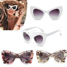 Fashion Womens Retro Cat Eye Outdoor Shades Goggles Vintage Sunglasses with Case