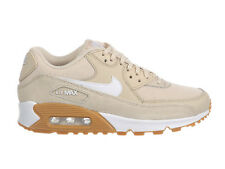 NEW WOMENS NIKE AIR MAX 90 RUNNING SHOES TRAINERS OATMEAL / WHITE / GUM LIGHT BR