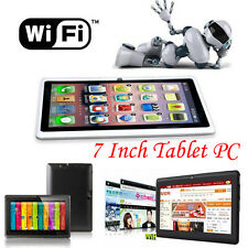7 Inch HD Google Android 4.4 Tablet PC 8GB WIFI Quad Core Dual Camera A33 Tablet