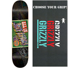 BLIND Skateboard Deck JAKE BROWN POSTCARD 7.5 with GRIZZLY GRIPTAPE