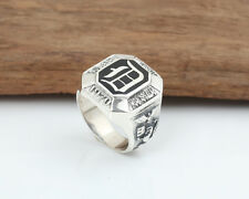The Vampire Diaries Vintage Damon D Salvatore 925 Sterling Silver Crest Rings
