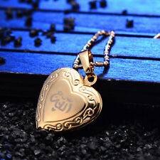 Childrens Cross Locket Heart Frame Pendant Yellow Gold Filled Wholesale Gifts
