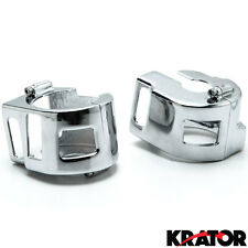Yamaha V-Star / Kawasaki Vulcan / Suzuki Boulevard Chrome Switch Housings Cover
