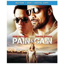 Pain  Gain (Blu-ray/DVD, 2013, 2-Disc Set)