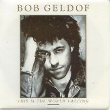 "BOB GELDOF This Is The World Calling 7"" VINYL UK Mercury 1986 B/W Talk Me Up"