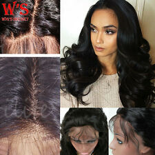 Glueless Human Hair Lace Front Wig 360 Baby Hair Full Lace Wigs Long Body Wave