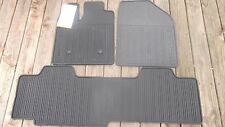 2011- 2014 OEM Ford EDGE Black Rubber All Weather Floor Mat Set DT4Z7813086AA