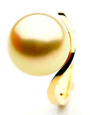 Pacific Pearls® AAA 14mm Australian Golden  South Sea Pearl Ring
