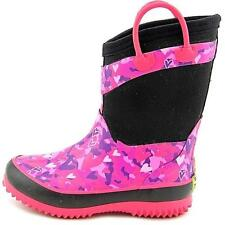 Girl's Youth WESTERN CHIEF HEART CAMO Pink Insulated Rubber Snow/Rain Boots NEW