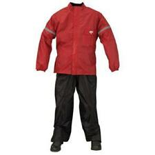 Nelson-Rigg WP-8000 Weather Pro 2-Piece Rain Suit Black/Red